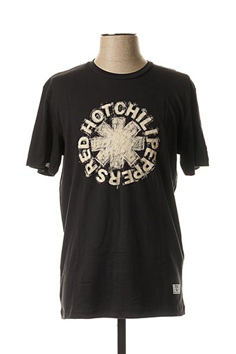 T-shirt manches courtes noir JACK & JONES pour homme