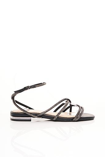 Sandales/Nu pieds noir BIBI LOU pour femme