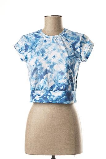 Crop top bleu SEAFOLLY pour femme