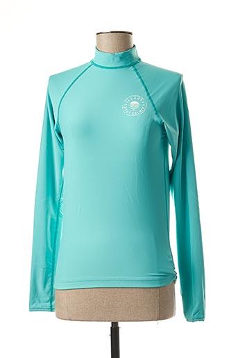 T-shirt manches longues bleu BILLABONG pour femme