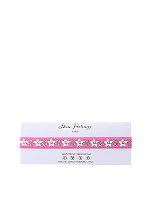 Collier rose SKINFEELINGS pour fille