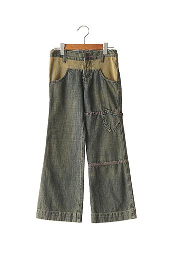 Jeans bootcut bleu JEAN BOURGET pour fille