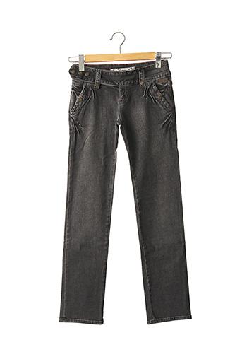 Jeans coupe droite noir DDP pour fille