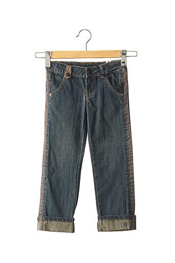 Jeans coupe slim bleu IKKS pour fille