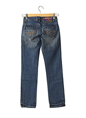 Jeans coupe droite bleu DDP pour fille seconde vue