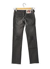 Jeans coupe droite noir DDP pour fille seconde vue