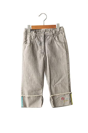Pantalon casual gris CATIMINI pour fille