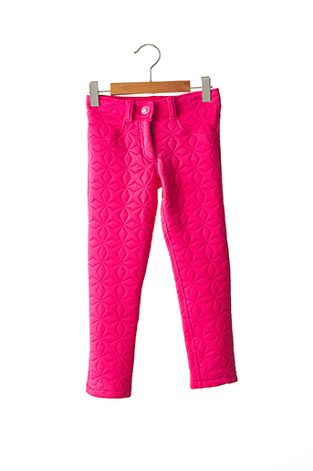 Pantalon casual rose TUC TUC pour fille