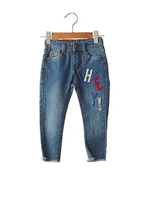 Pantalon casual bleu STREET MONKEY pour fille