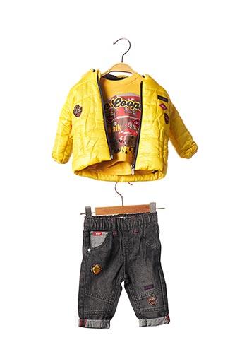 Top/pantalon jaune LEE COOPER pour garçon