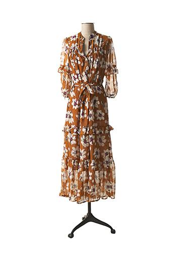 Robe longue jaune SCARLET ROOS pour femme