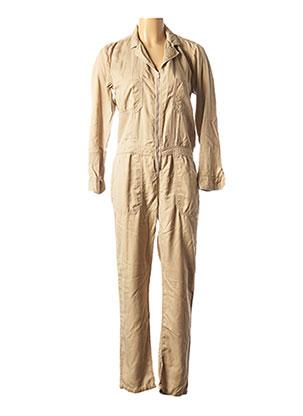 Combi-pantalon beige BÔ-M pour femme