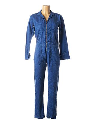 Combi-pantalon bleu BÔ-M pour femme