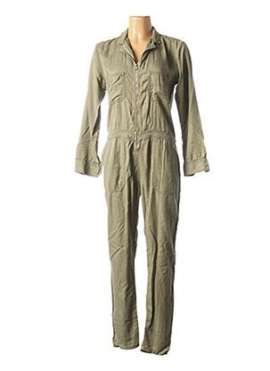 Combi-pantalon vert BÔ-M pour femme