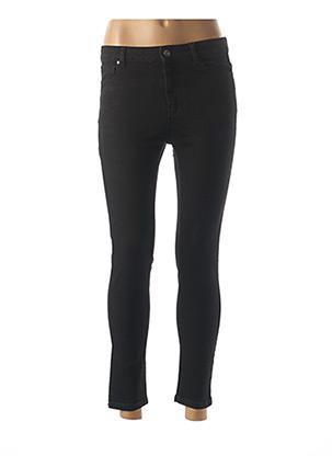 Jeans coupe slim noir BÔ-M pour femme