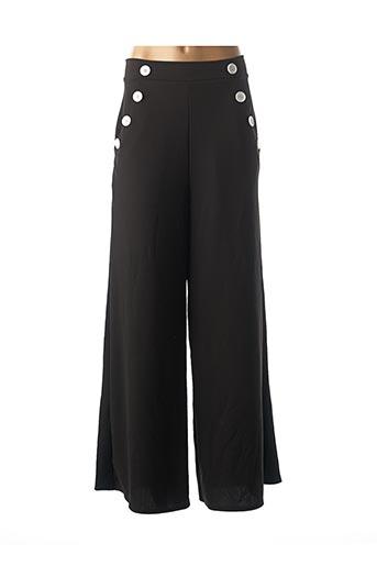 Pantalon casual noir BELSIRA pour femme