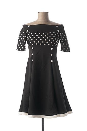 Robe courte noir BELSIRA pour femme