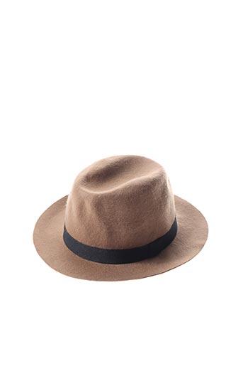 Chapeau marron SISLEY pour femme