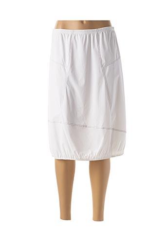 Jupe longue blanc JEAN DELFIN pour femme