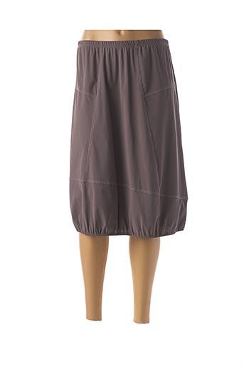 Jupe longue gris JEAN DELFIN pour femme