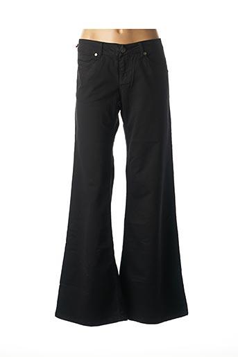 Jeans bootcut noir SABBATH pour femme
