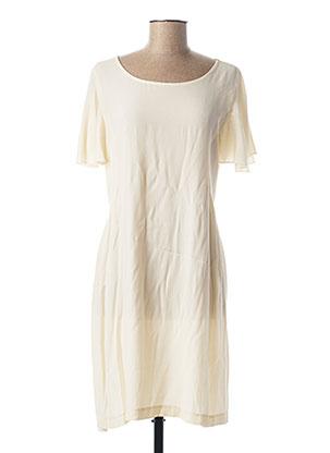 Robe mi-longue beige PAKO LITTO pour femme