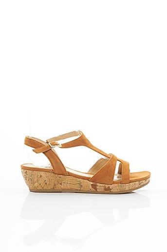 Sandales/Nu pieds marron JB MARTIN pour femme