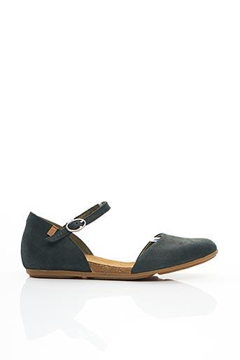 Sandales/Nu pieds vert EL NATURALISTA pour femme