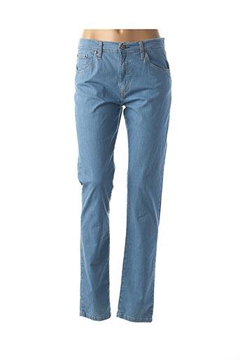 Jeans coupe slim bleu DESGASTE pour femme