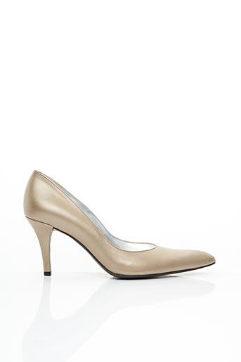 Escarpins beige FREE LANCE pour femme
