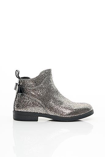 Bottines/Boots gris GEOX pour fille