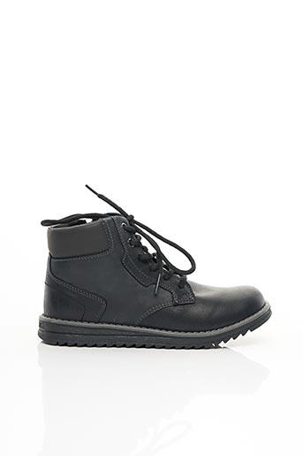 Bottines/Boots noir GEOX pour garçon