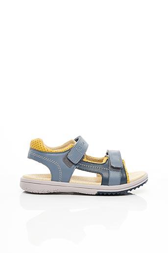 Sandales/Nu pieds jaune KICKERS pour garçon