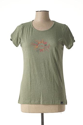 T-shirt manches courtes vert EIDER pour femme