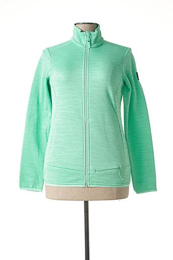 Veste casual vert EIDER pour femme