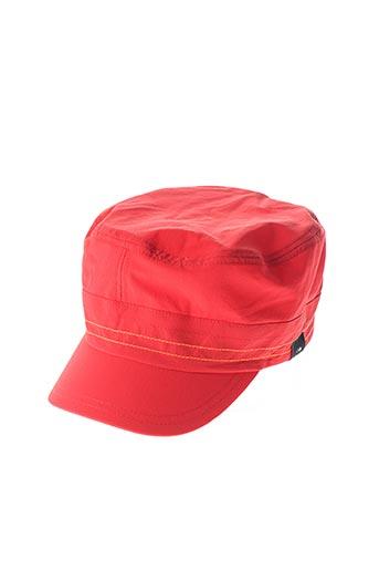 Casquette rouge EIDER pour femme
