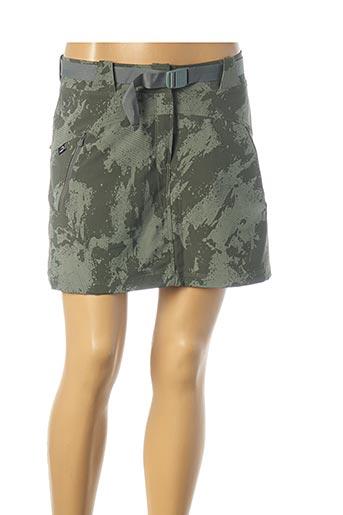 Jupe short vert EIDER pour femme