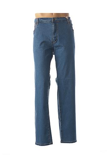 Jeans coupe droite bleu EASY pour homme