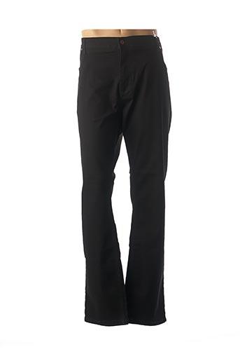 Jeans coupe droite noir D555 pour homme