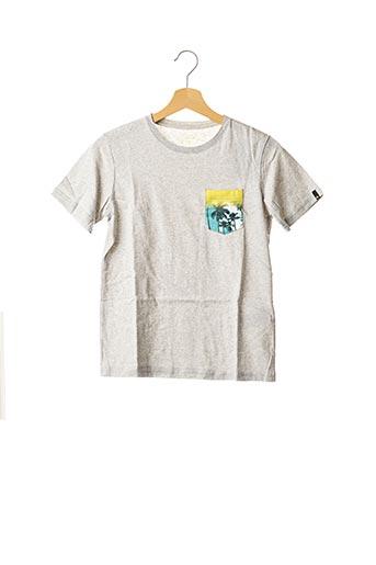 T-shirt manches courtes gris QUICKSILVER pour garçon