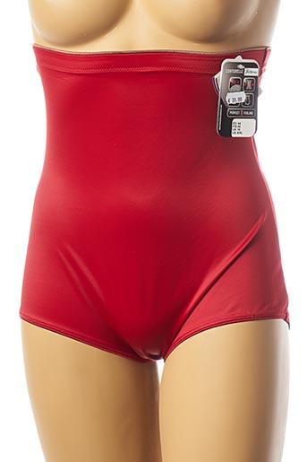 Culotte gainante rouge CONTURELLE pour femme