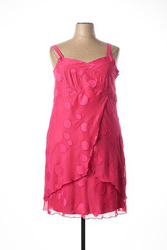 Robe mi-longue rose JEAN DELFIN pour femme