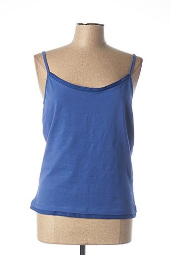 Top bleu EPICEA pour femme