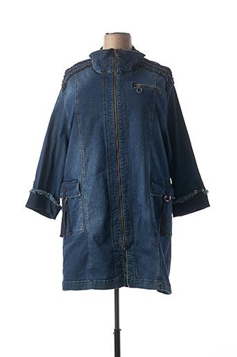 Veste en jean bleu ALAIN MURATI pour femme