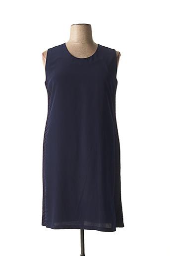 Robe mi-longue bleu ALAIN MURATI pour femme