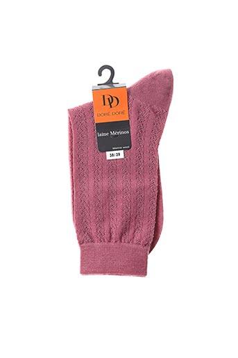 Chaussettes violet DORE DORE pour femme