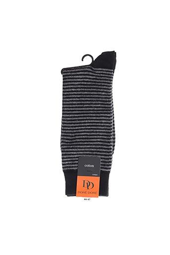 Chaussettes gris DORE DORE pour homme