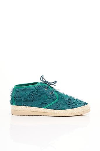 Baskets vert IPPON VINTAGE pour femme