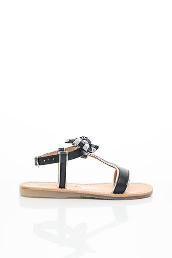 Sandales/Nu pieds noir MELLOW YELLOW pour fille
