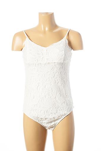 Body blanc MOLLY BRACKEN pour femme